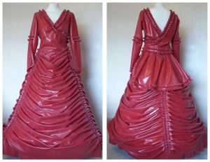 Latex Victorian Wedding Dress
