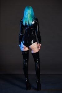 PVC Jumpsuit with Sleeves 3