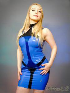 Sapphire dress 2