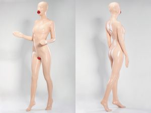 FULLY ENCLOSED LATEX DOLL SUIT
