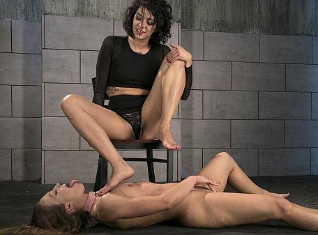 Cheyenne and Bianca Foot Worship