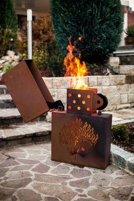 Feuerstelle Garten Gas