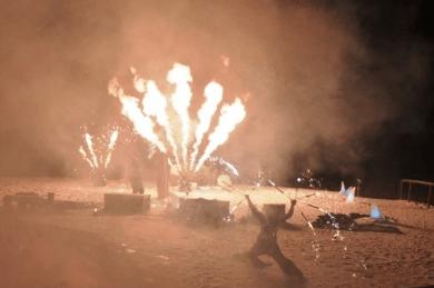 Flammensystem Pyroshow