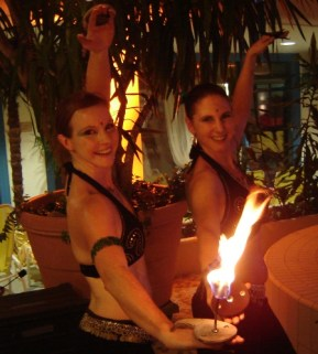 Feuershow Orient Therme