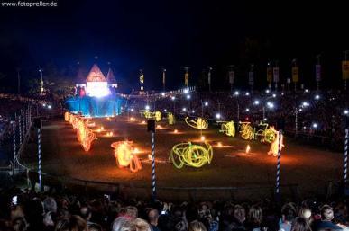 Ritterspiele Feuershow Großevent