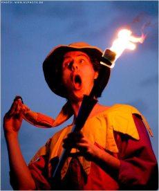 Feuershow Gauklernacht Kaltenberg