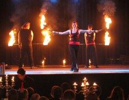Feuershow Dresden