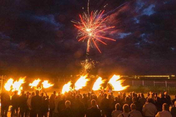 Flammenwerfer Pyroshow