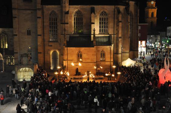 Feuer und Flamme für Heilbronn