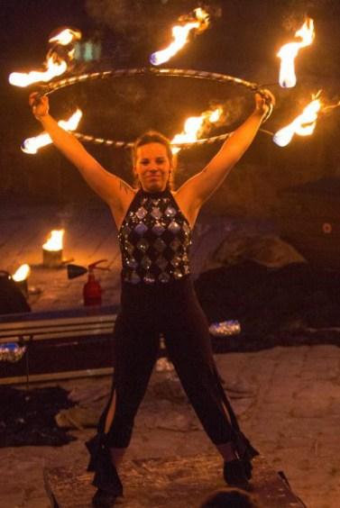 Team Lisa Burgfest Feuershow
