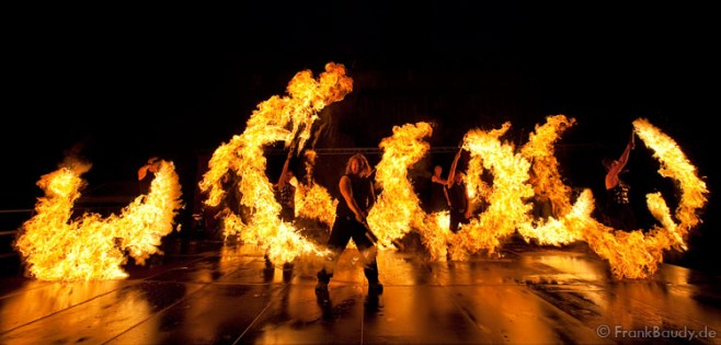 Paderborner Feuerzauber Sams Feuershow