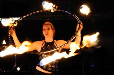 Feuerperformance Anne Team Feuershow.de