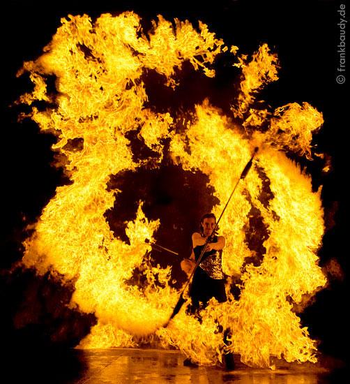 Feuerperformance Nürnberg