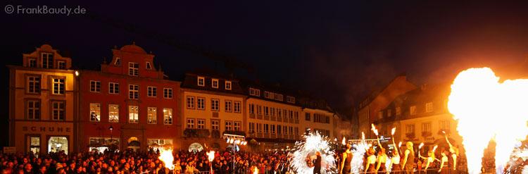 Feuershow Hamburg