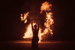 Flammenperformance