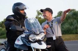 Triumph bietet in Kooperation mit dem ADAC Rhein-Main verschiedene Fahrsicherheitstrainings an