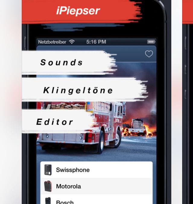 iPiepser – Deine Feuerwehr Melder App