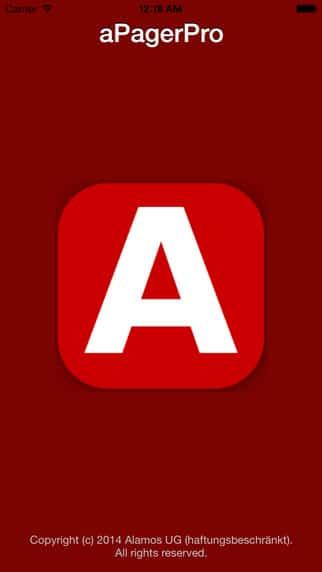 aPager – App für firEmergency