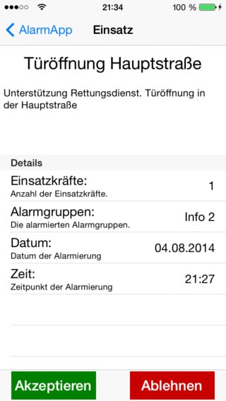 Alarm App – Android UND iPhone