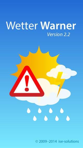 Unwetterwarnung – Wetter Warner