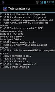 Totmannwarner App