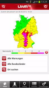Unwetterradar Deutschland – UWR