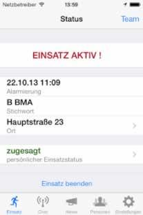 FF Agent App – Einsatzalarm auf das Smartphone
