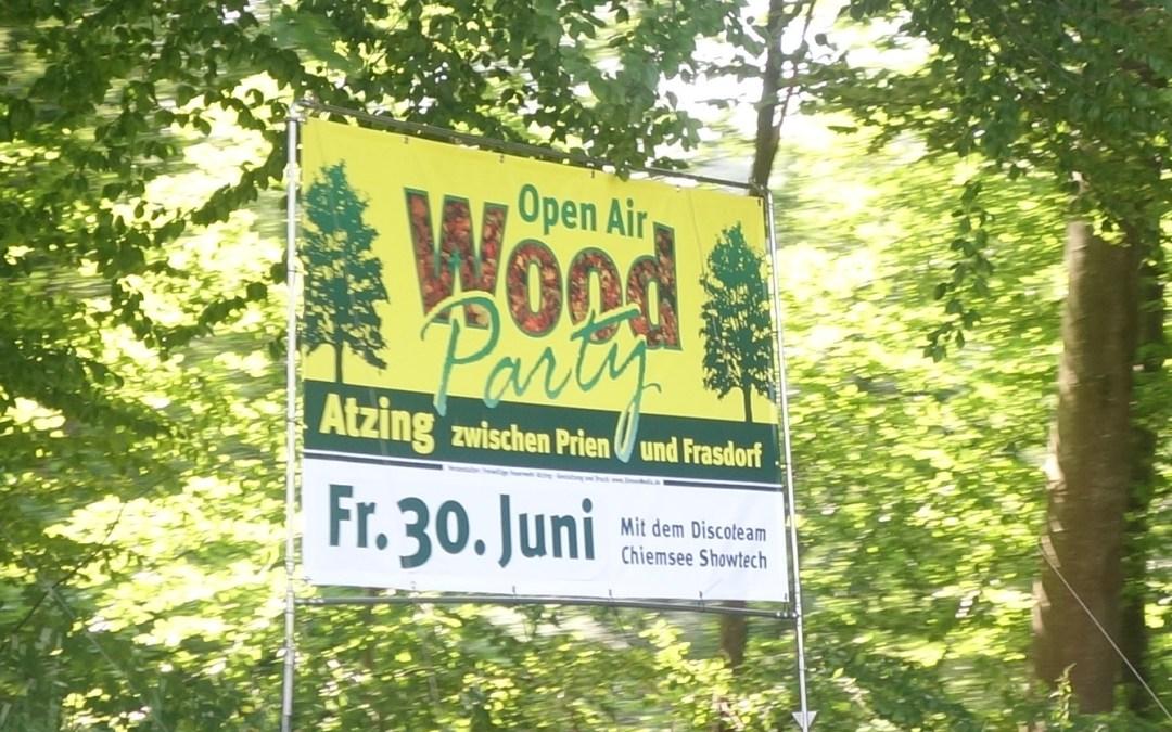 Wood-Party im Buchenwald am 30. Juni 2017