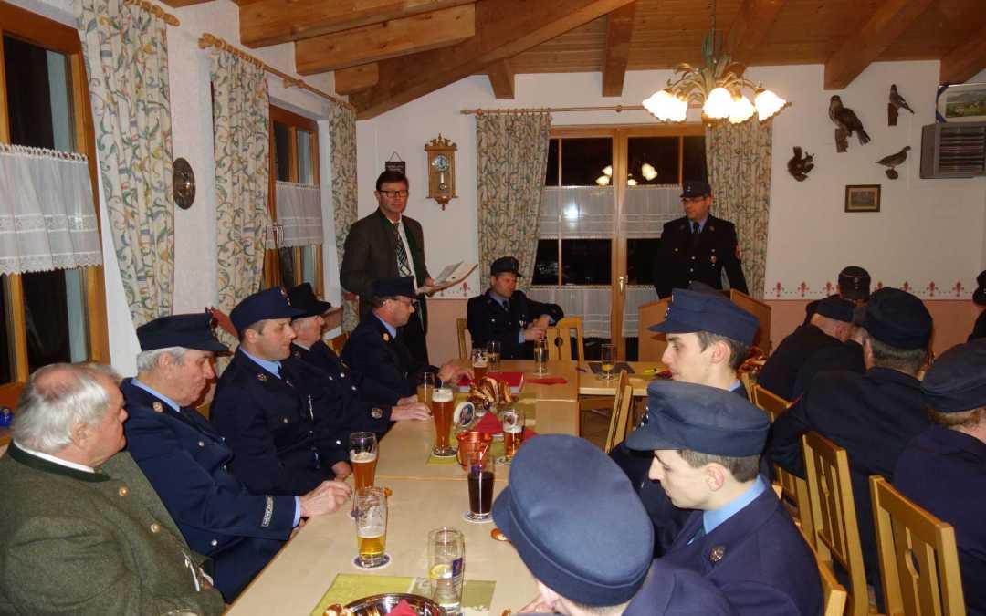 Jahresversammlung bei Feuerwehr Prien-Atzing – 1.450 Leistungsstunden