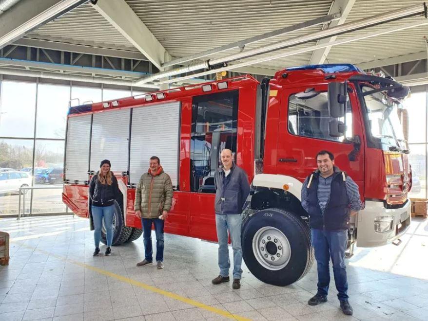 Atzinger Feuerwehr auf dem Weg zu neuem Löschfahrzeug