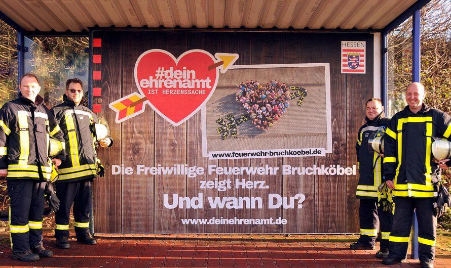"""22.12.2019 Plakataktion """"Herz fürs Ehrenamt"""""""