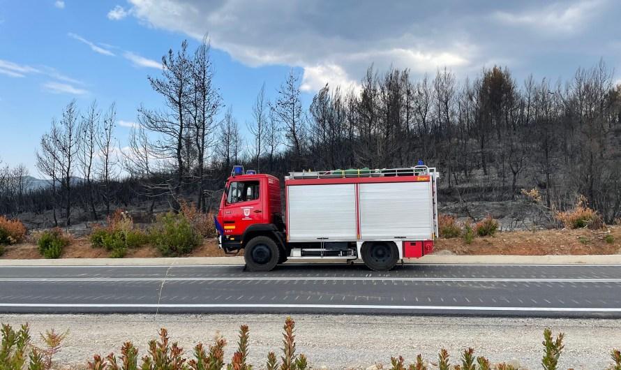 18.08.2021 Feuerwehrleute aus Griechenland zurück