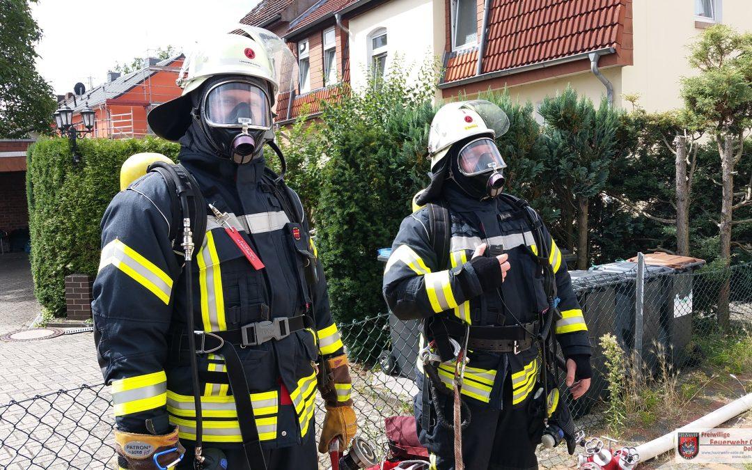 Essen angebrannt  Freiw Feuerwehr Celle