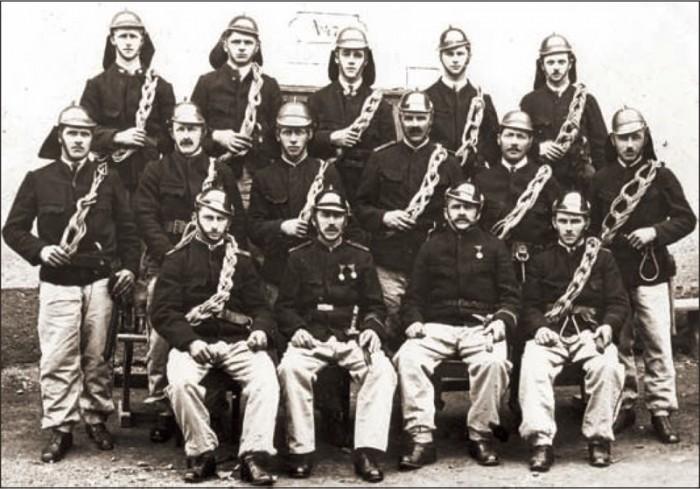 Steiger Mannschaft aus dem Jahr 1930