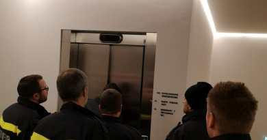 Person Aufzugstop