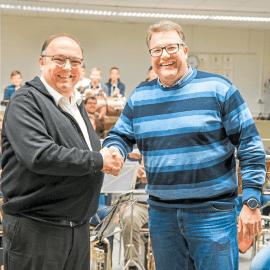 Guido Wolbeck wird Vorsitzender