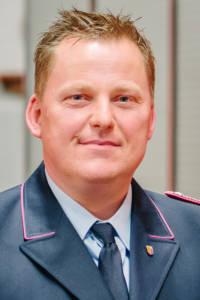 Stellvertretender Stadtbrandmeister Manfred Brüning