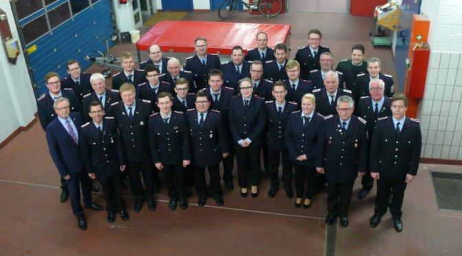 Ein Jahr bei der Feuerwehr Lohne: 200 Alarme, 4272 Stunden im Einsatz und 4720 Ausbildungsstunden