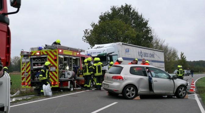 Tödlicher Verkehrsunfall in Klein-Brockdorf