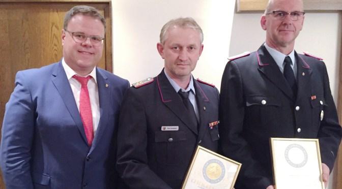 Rat bestätigt Führungsduo der Südlohner Feuerwehr