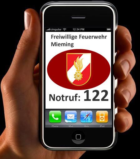 Feuerwehr-Notruf: 122