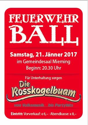 Feuerwehrball 2017