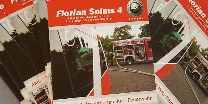 """Verteilung einer neuen Ausgabe von """"Florian Solms 4"""""""