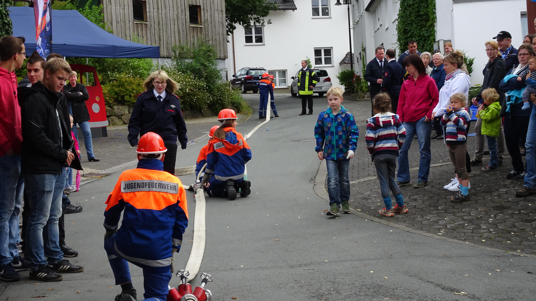 Jugendfeuerwehr Oberhenneborn feiert ihr 10 Jähriges Bestehen