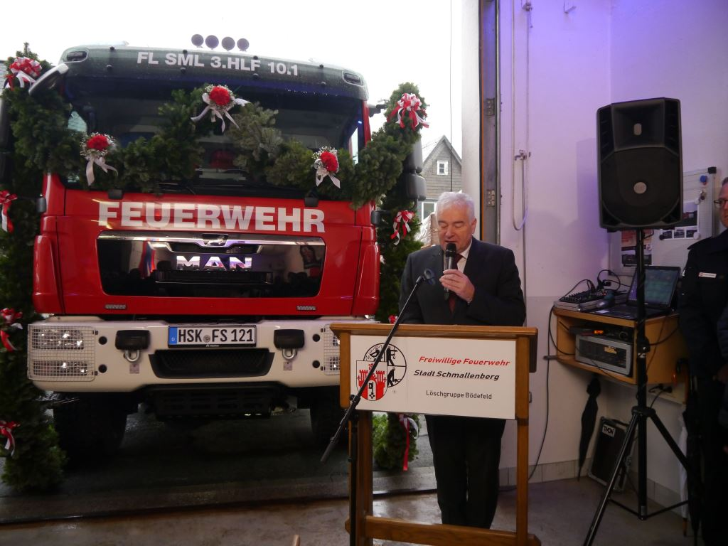 Neues Hilfeleistungslöschfahrzeug für die Löschgruppe Bödefeld