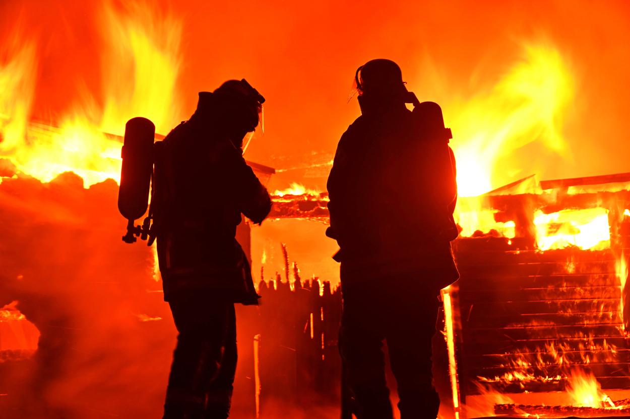 Großbrand in Gleidorf
