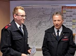 Christopher Poggel ist neuer stellvertretender Löschgruppenführer in Bracht
