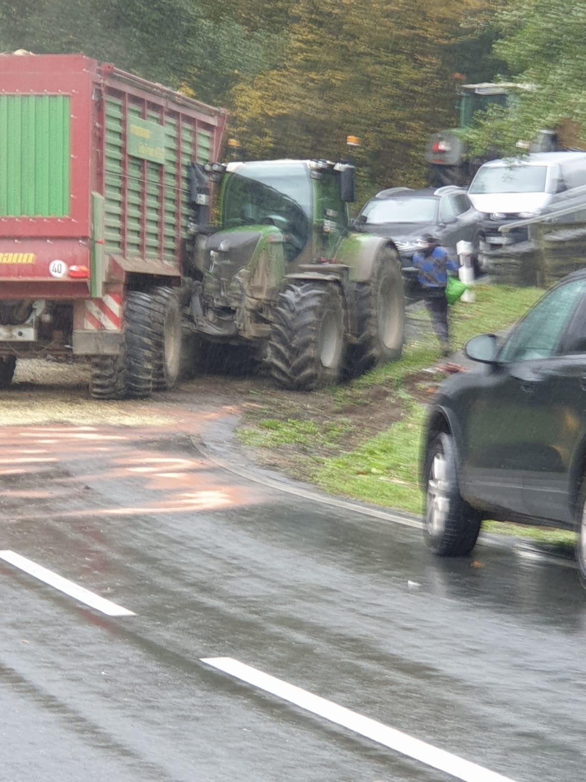 Verkehrsunfall zwischen Ebbinghof und Wormbach