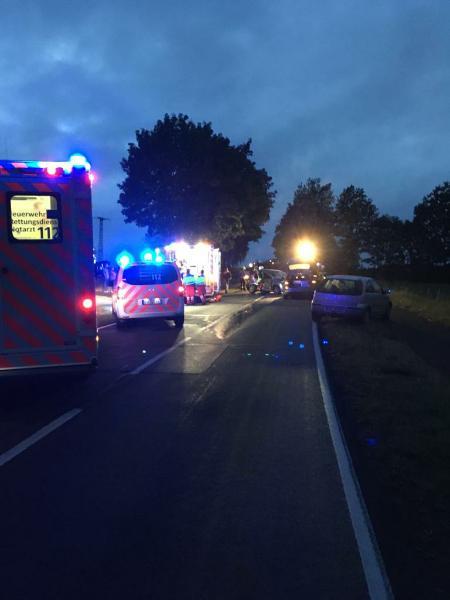 Schwerer Verkehrsunfall zwischen Berghausen und Heiminghausen