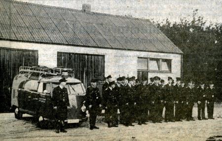 1964 Einweihung des Feuerwehrhaus am Dorfkamp